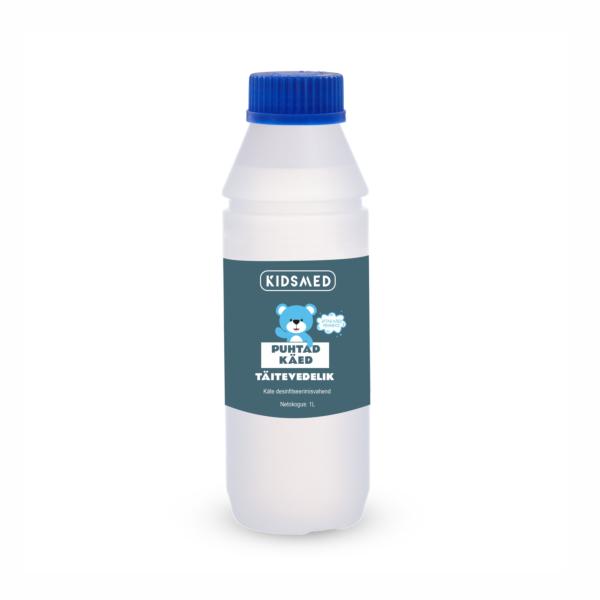 Rankų dezinfekavimo priemonė - Užpildymas skysčiu 1L