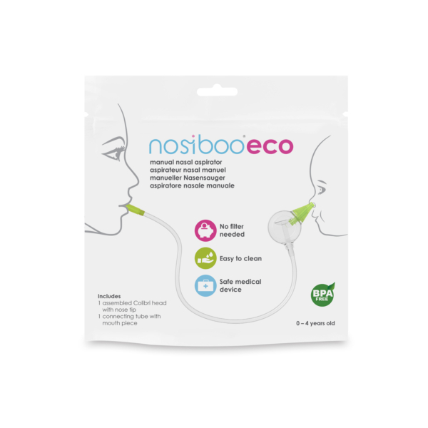 Nosies gleivių aspiratorius Nosiboo ECO